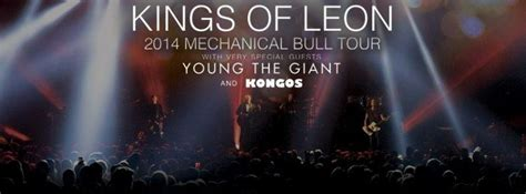 Kings Of Leon Announce Dates For Summer 2014 Mechanical