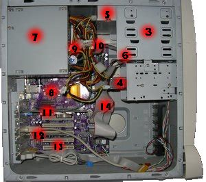 interieur d un ordinateur dans l antre d un ordinateur