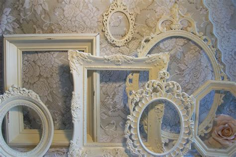 white shabby chic photo frames shabby chic frames white frames vintage picture by gardenofchic