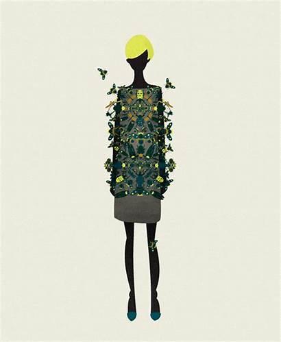 Cristian Grossi Moda Illustrations Pinko Londra Illustrazione