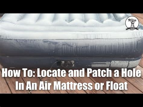 how to fix a in air mattress how to fix a aerobed bed funnydog tv