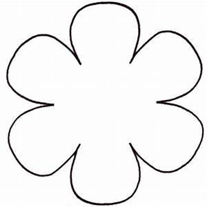 Free flower templates printable clipartsco for Free flower templates