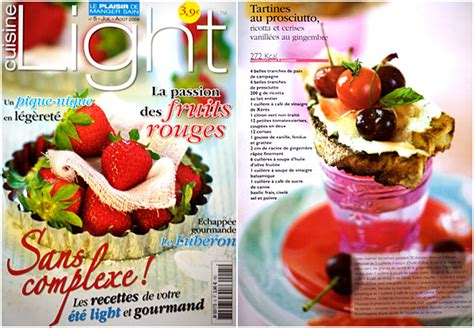 cuisine gourmande magazine another adventure with cuisine light magazine and a cover