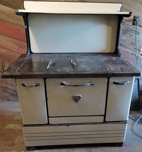 antique montgomery ward wood burning kitchen cook stove ebay