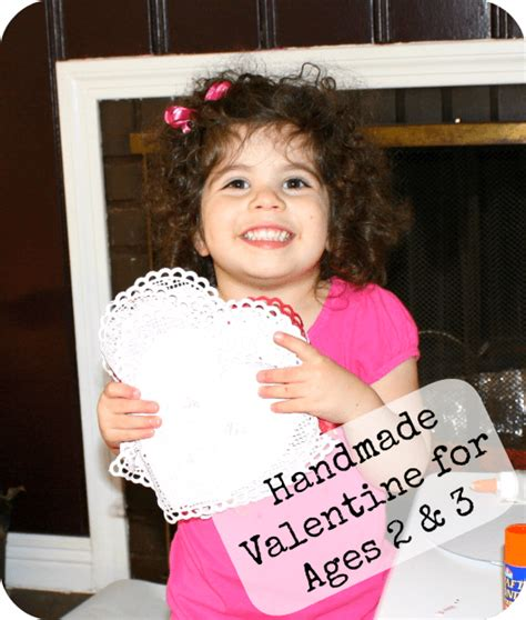 ornaments for two year olds to make valentines made completely by your child easy enough for