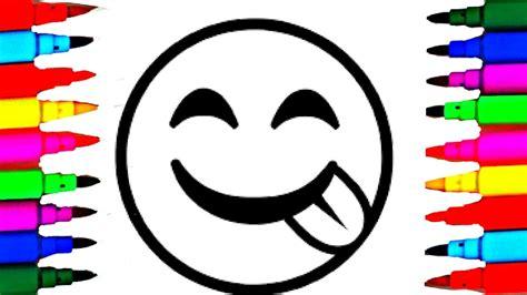 draw  color emoticons  emoticons faces coloring