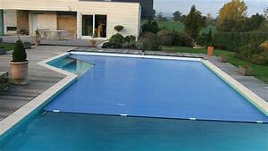 piscines de particuliers With volet roulant piscine