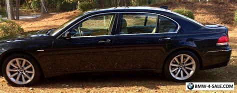 2007 Bmw 7-series Li For Sale In United States