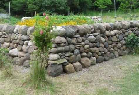 Steine Für Mauer Im Garten by Trockenmauer Bauen Stein Mauer Ideen Haus Und Garten