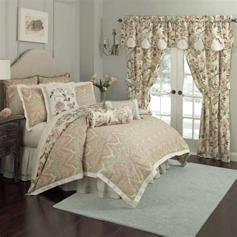 waverly graceful garden scalloped 60 quot curtain valance