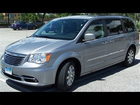 town and country test chrysler town and country test drive