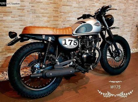 Kawasaki W175 Modified kawasaki w175 custom kumpulan motorcycle moto bike