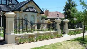 Front Yard Fence Idea Type Fence Fencing Contractor Surely Recommend The Dramatic Fence Designs For Your Front Yard