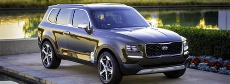 kia telluride concept  world debut  north american