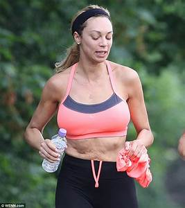 Lilly Becker shows off her ample assets in sports bra as ...