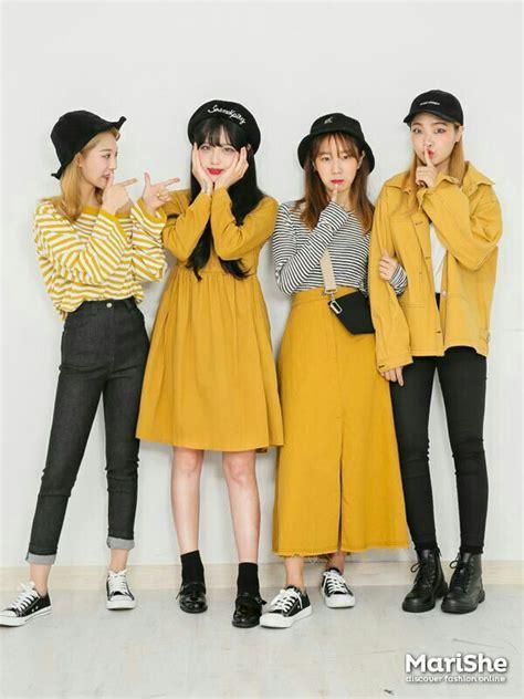 Yellow Aesthetics | Korean Fashion Amino