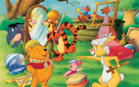 Winnie The Pooh Party Desktop Background Hd 1920x1200
