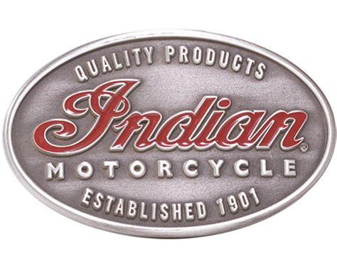 New Indian Motorcycle High Quality Emblem Belt Buckle Imc