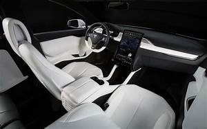 Tesla Model 3 White Interior