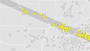 Every Waffle House In The Total Solar Eclipse Path  Mapped