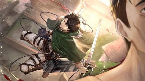 Levi attack on titan shingeki no kyojin anime hd wallpaper. Levi, Attack on Titan, 4K, #1 Wallpaper