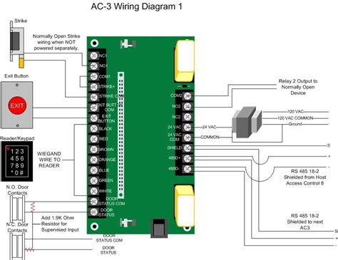 door access system wiring diagram wiring diagram