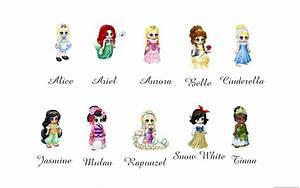 All Disney Princess Names List And Pictures images