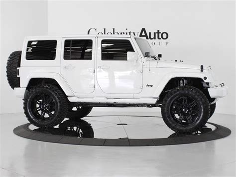 lebron white jeep celebrity auto group 2013 jeep wrangler unlimited sahara