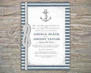 nautical invitation diy printable invite for wedding or With nautical wedding invitations online