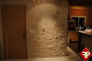 Papier Peint Fausse Pierre : photo mur en pierre interieur evtod ~ Dailycaller-alerts.com Idées de Décoration