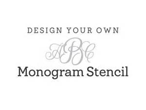 cake topper initials monogram stencil monogramming stencil craftcuts