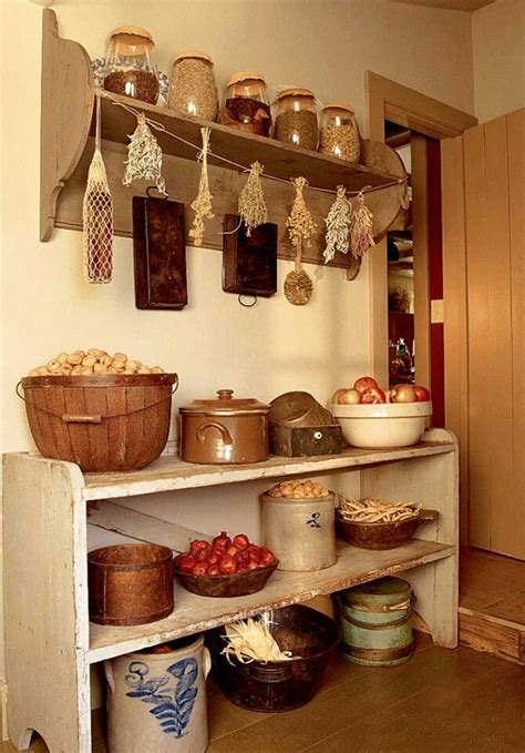 country kitchen storage ideas best 20 primitive shelves ideas on prim decor 6147