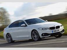 BMW 4 Series Gran Coupe driven London Evening Standard
