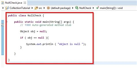check null  java  steps  pictures wikihow