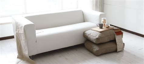 Leather Slipcover For Ikea Klippan Sofa