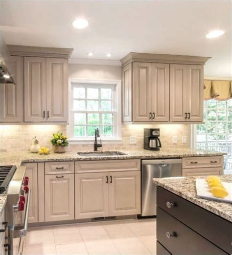 taupe colored kitchen cabinets taupe kitchen cabinets centsational style