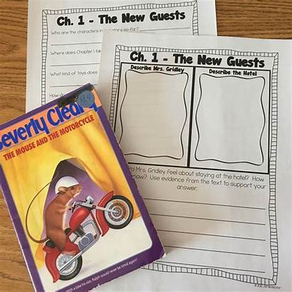 Mouse Motorcycle Grade Study Books Five Friday