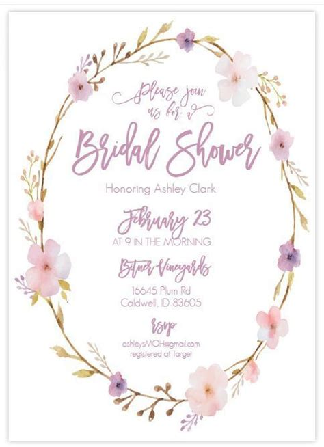 Free Bridal Shower Templates by Here Are Some Bridal Shower Templates That You Won T