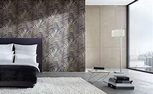 Bilder Tapeten Schlafzimmer : behang voor de slaapkamer bij hornbach ~ Frokenaadalensverden.com Haus und Dekorationen