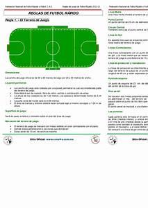 FNFR Reglas de Juego de Futbol Rápido 2011
