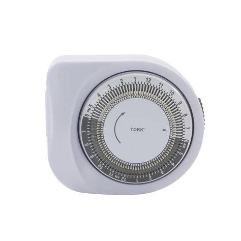 tork 401a 24 hour mechanical light timer wall timer