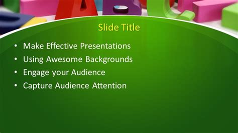 learning powerpoint template  powerpoint templates