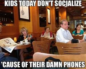 Kids are so antisocial | Funny Pictures and Quotes