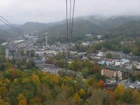 gatlinburg tn view from chair lift photo picture