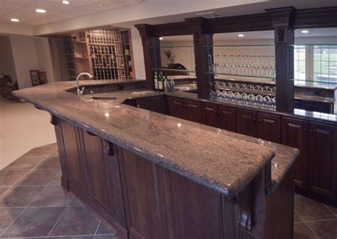 Custom Home Bars by Custom Nj Home Bar Trade Design Build