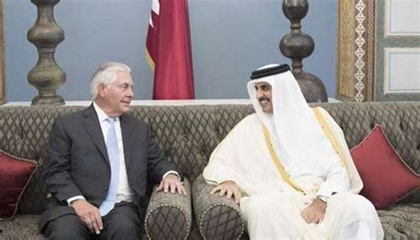 Gulf Crisis: Tillerson says Qatar's position 'reasonable'
