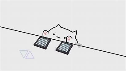 Bongo Cat Meme 2048