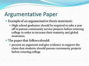 Good argumentative essay thesis