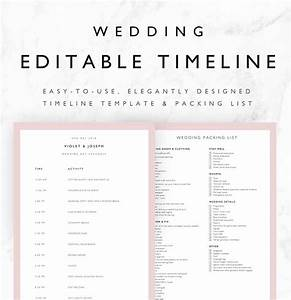 25 beautiful wedding timeline templates mashtrelo With wedding day timeline template word