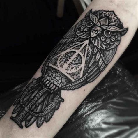 hallows tattoos  forearm
